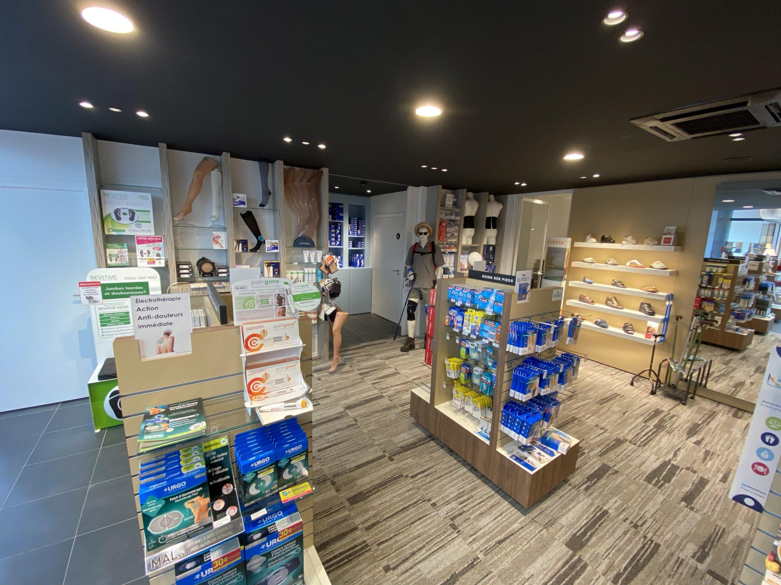 bas de contention Pharmacie de la Thure à Cousolre proche de Baumont dans le Hainaut