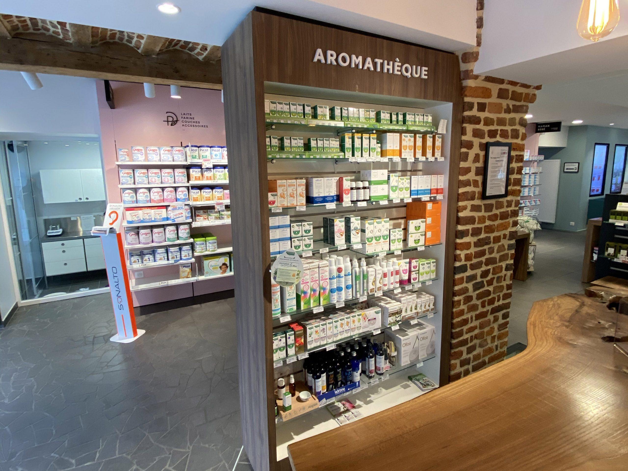 Pharmacie de la Thure à Cousolre - Aromathérapie