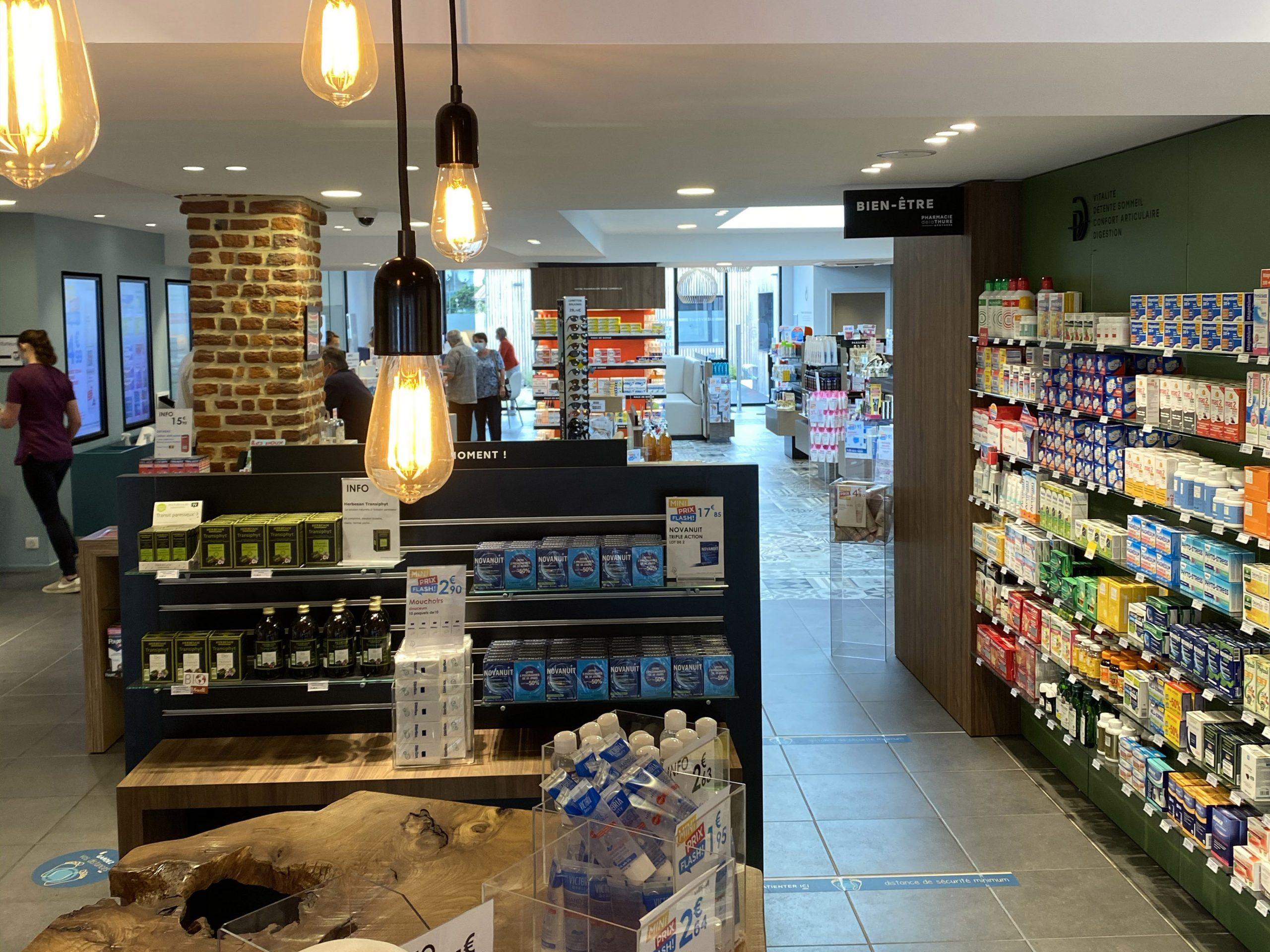 Pharmacie de la Thure à Cousolre proche de Beaumont dans le Hainaut